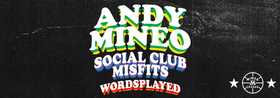 Andy Mineo Friends & Family Tour