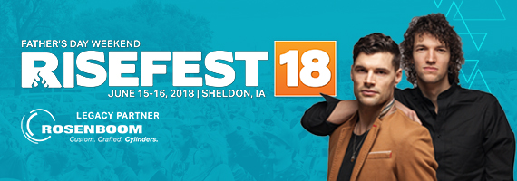 RISEFEST: Jeremy Camp, Jordan Feliz, We Are Messengers