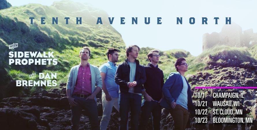 Tenth Avenue North - All the Earth is Holy Ground Tour